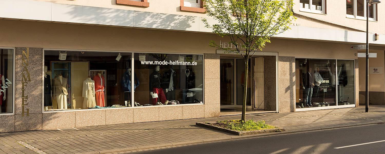 Mode Helfmann - Ladenansicht von links